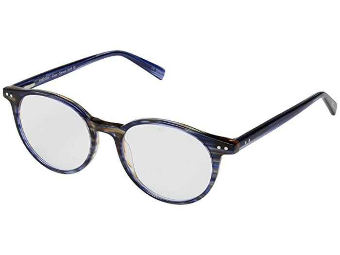Case Closed (Blue Multi Stripe/Blue Stripe) Reading Glasses Sunglasses
