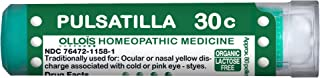 OLLOIS Organic & Lactose-Free Homeopathic Medicines, Pulsatilla 30C Pellets, 80Count