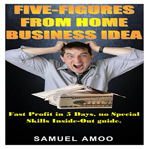 Five Figures from Home Business Idea audiobook cover art