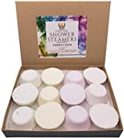 Variety sampler Shower steamers with essential oils, 12 tablets, Wildfire Aromatics