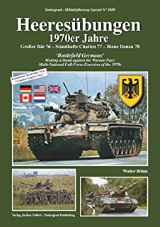 タンコグラッド バトルフィールド・ジャーマニー ワルシャワ条約に対抗する1970年代の多国籍軍 演習 模型資料本 MFZ-S5089