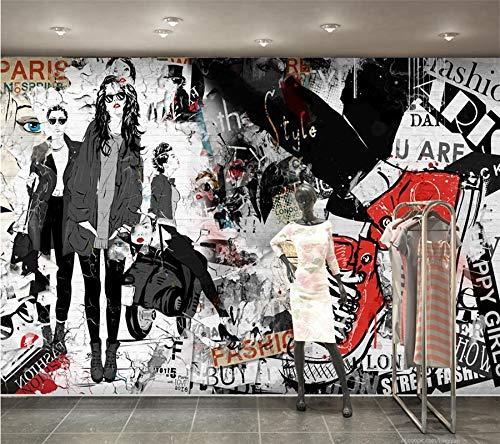 Fond d'écran Accueil Décoratif Mural Tendances Mode Beauté Fait à la main Magasin de vêtements Fond Mur 3d Wallpaper(À partir de 1 mètre carré)-1㎡