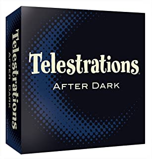 Telestrations After Dark Adult Party Game | Adult Board Game | An Adult Twist on The #1 Party Game Telestrations | The Telephone Game Sketched Out | Ages 17+