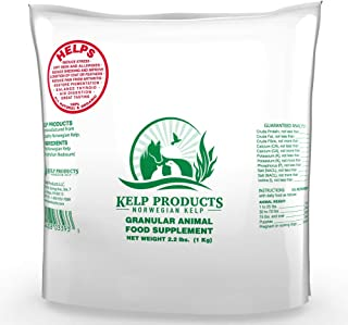 Norwegian Ocean Kelp Supplement for Dogs. Vegetarian Blend - 2 pounds