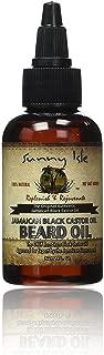 Sunny Isle Jamaican Black Castor Beard Oil, 2 Ounce