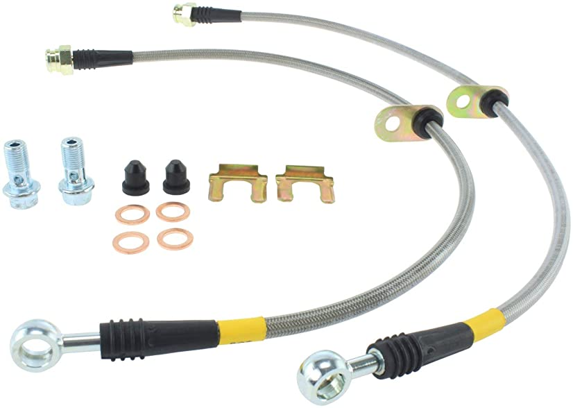 StopTech (950.44034) Brake Line Kit, Stainless Steel