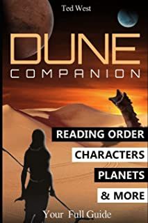 Dune Companion: Novels Reading Order, Characters, Planets, Houses & More in Frank Herbert's books series (2)