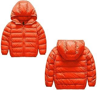 子供 ダウンジャケット 軽量 フード付き カジュアル 冬服 男女兼用 ダウンコート キッズ 防寒 防風 アウドドア 登山 通学