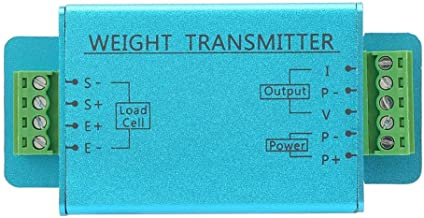 Boquite Load Cell, Weight Sensor, DY510 4-20mA Load Cell Weighing Sensor Transducer Transmitter Amplifier Signal Amplification