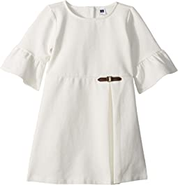Side Buckle Ponte Dress (Toddler/Little Kids/Big Kids)