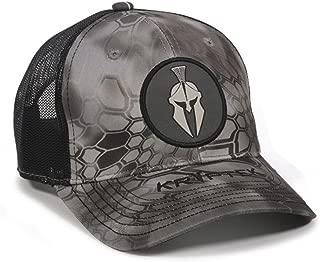 Kryptek Raid Helmet Circle Patch Mesh Back Fishing, Hunting, Military Cap