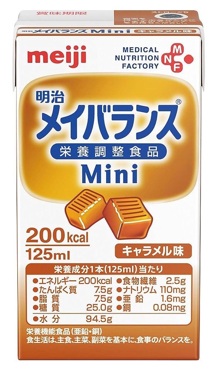 展望台報復するスーツ【明治】メイバランス Mini キャラメル味 125ml