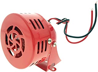 DC 12V MS-190 Fire Alarm Buzzer Industrial Electronic Wind Screw Motor High Decibel Mini Siren
