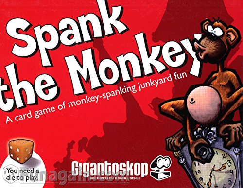 Spank the Monkey Tabletop Game