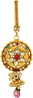 VAMA Fashions Antique Gold Plated (1Gm Gold) Designer Saree Waist Challa/Juda Kamarband Keychain Ethnic & Traditional Wedd...