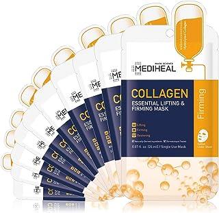 MEDIHEAL Official [Korea's No 1 Sheet Mask] - Collagen Essential Lifting & Firming Mask (10 Masks)