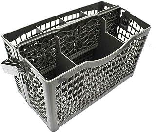 ZQDL Panier de rangement universel pour lave-vaisselle, boîte de rangement, panier d'argenterie pour lave-vaisselle et cou...