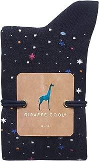 Giraffe Cool Calcetín para Mujer de Color Azules Cosmos