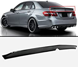 Cuztom Tuning Fits for 2010-2015 Mercedes Benz W212 E-Class & E63 AMG Sedan High Kick Carbon Fiber Trunk Spoiler