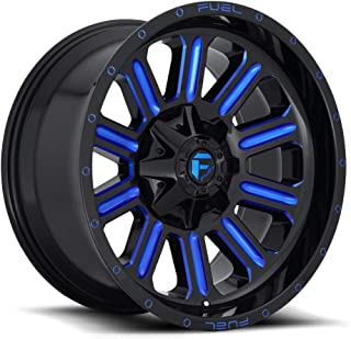 FUEL Hardline NLK-Gloss MIL BLU Wheel with Painted (18 x 9.5 inches /6 x 135 mm, -12 mm Offset)