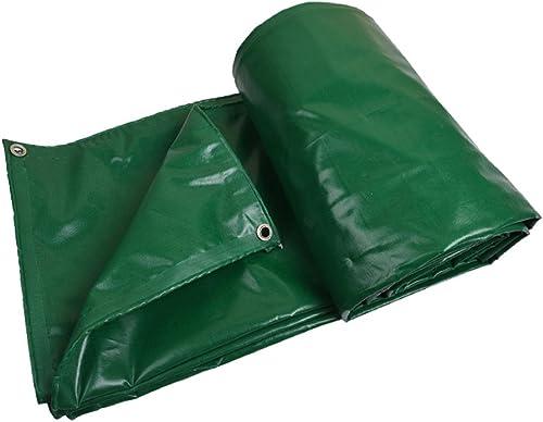 MDBLYJAuvent Pare Soleil et Tissu Froid Bache Camion bache en Plein air à la poussière Anti-Vent Coupe-Vent Bois Haute température résistant Anti-vieillisseHommest, Vert