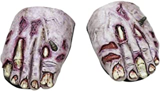 Ghoulish Productions Undead Zombie Feet Covers