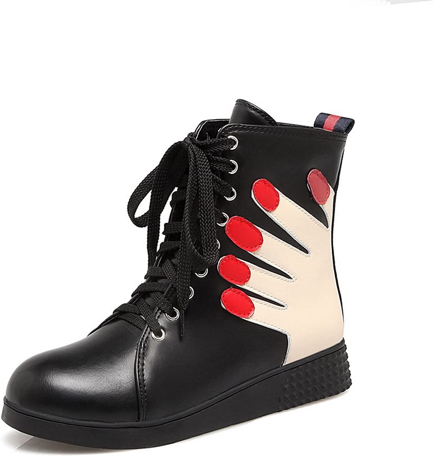 AdeeSu Womens High-Top Walking-shoes No-Heel Urethane Walking shoes SXC02514