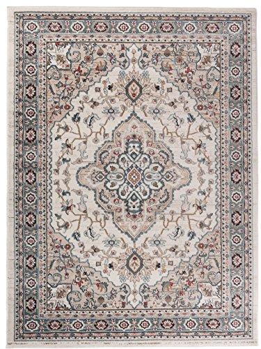 Carpeto Rugs Tapis Salon Beige 120 x 170 cm Oriental/Ayla Collection