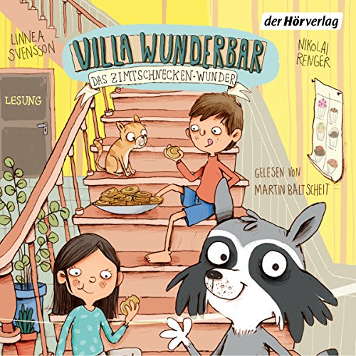 Das Zimtschnecken-Wunder     Villa Wunderbar 3              By:                                                                                                                                 Linnea Svensson                               Narrated by:                                                                                                                                 Martin Baltscheit                      Length: 1 hr and 24 mins     Not rated yet     Overall 0.0