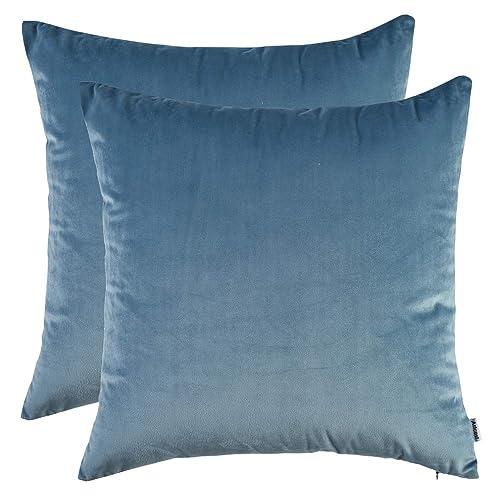 Magnificent Light Blue Throw Pillows Amazon Com Inzonedesignstudio Interior Chair Design Inzonedesignstudiocom