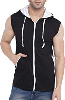 Adults Plain Long Sleeve Polycotton Thermal Shirt Mens Ribbed Collar Casual Vest