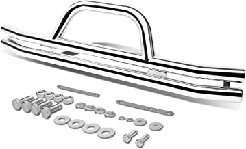 For Jeep Wrangler 3 inches Stainless Steel Front Brush Bumper Grille Guard (Chrome)