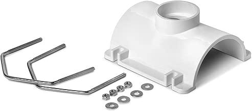 Oatey 43791 PVC Saddle Tee Kit, 4-Inch x 2-Inch