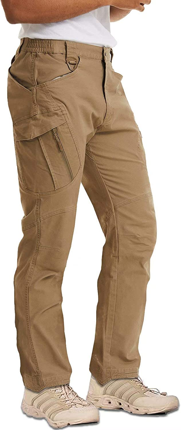 MAGCOMSEN Men's Outdoor Cargo Work Pants T with Cotton Branded goods Pockets Genuine Free Shipping 9