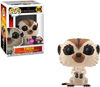 POP Disney: The Lion King (Live Action) - Timon (Flocked) [B&N Exclusive]