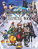 Kingdom Hearts Coloring Book: The ultimate coloring book for Kingdom Hearts fans