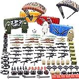 Casco De Juguete Militar, Paracaídas, Chalecos, Conjunto De Armas Para Soldados Minifiguras Swat Team Eat Chicken Personajes, Rompecabezas Militar Compatible, Juguetes Para Niños Ensamblados