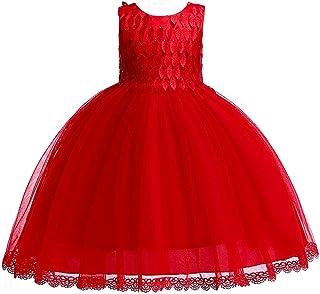 BCSHF Vestido de Princesa de Las niñas Vestidos de Malla tutú de la Princesa de los Vestidos de Las niñas de Belleza Vesti...