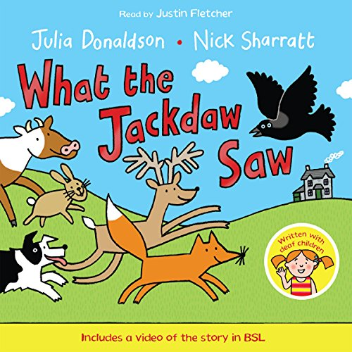 What the Jackdaw Saw audiobook cover art