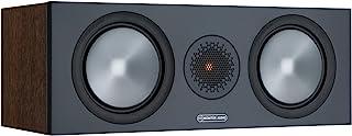 Monitor Audio Bronze C150 6G | Farbe: Walnuss | Center Lautprecher | Stück | Heimkino | 2 Wege | 8 Ohm | 120 Watt | Magnetische Abdeckung | Geschlossenes Gehäuse | Passiv