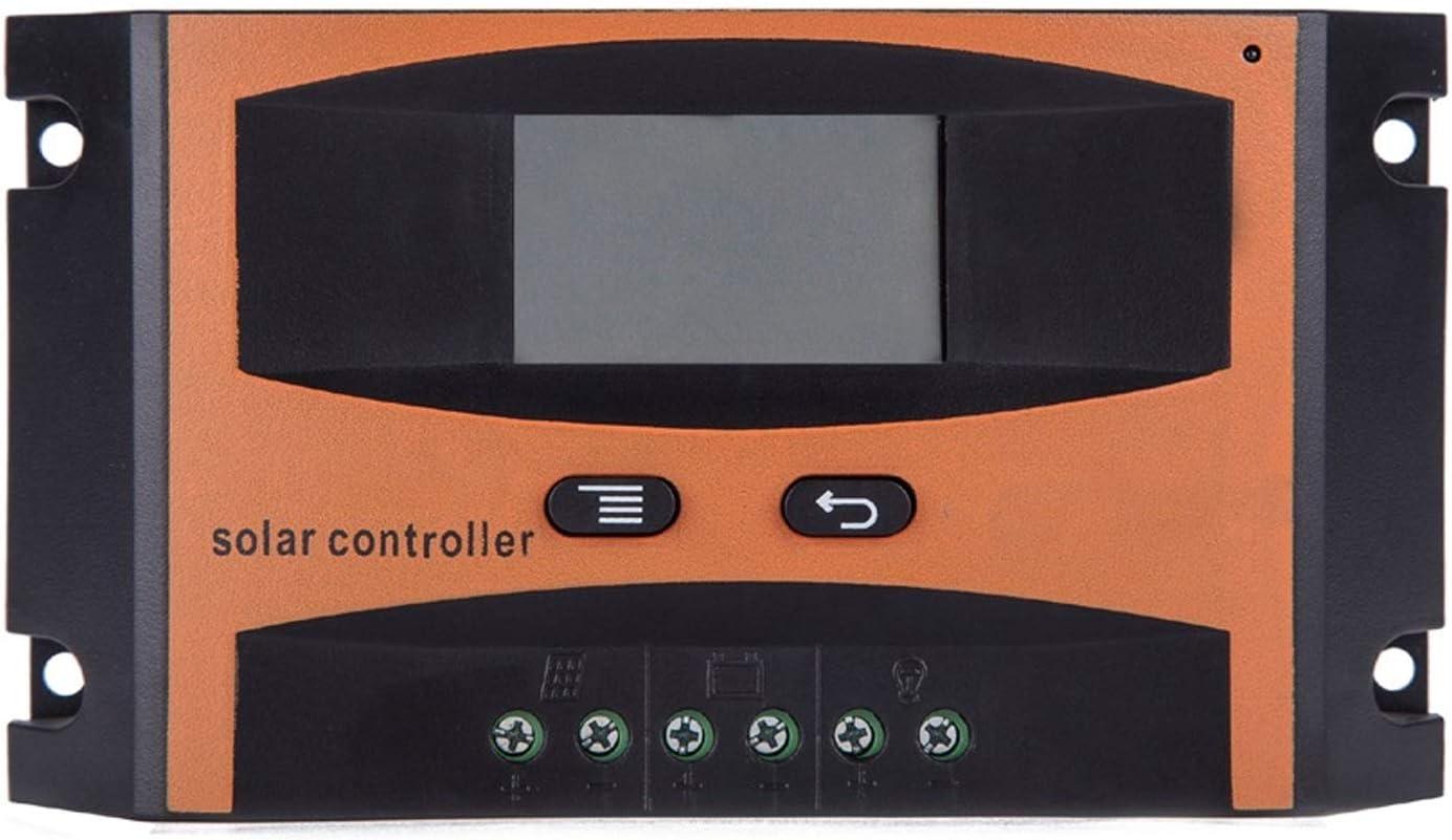 Kit de generador de turbina eólica Regulador solar 20A 12V 24V Con Display LCD panel de batería solar Regulador de carga LD2420C Sistema de paneles solares
