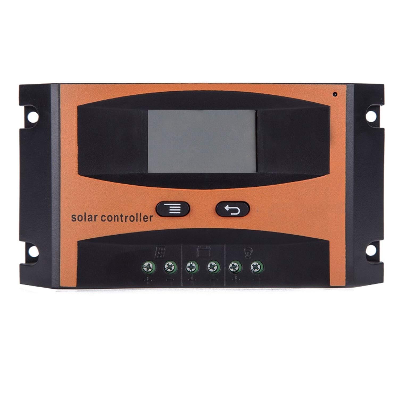 Controlador de carga solar Regulador solar 20A 12V 24V Con Display LCD panel de batería solar Regulador de carga LD2420C Controlador Solar Energy Power: Amazon.es: Bricolaje y herramientas