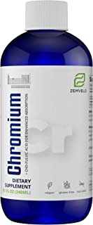 Mineralife Liquid Ionic Chromium (8 oz – 96 Day Supply) Natural Weight Loss and Circulatory System Health Support