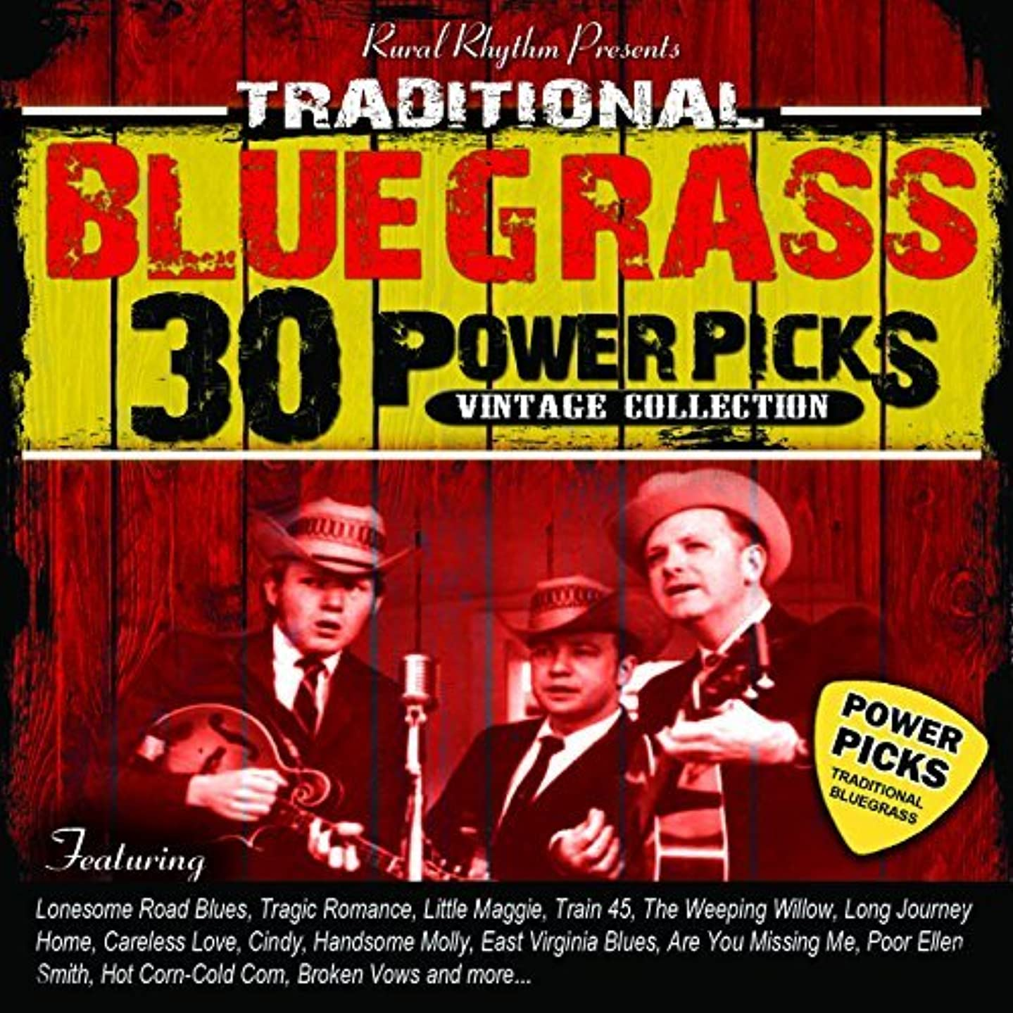 30 Traditional Bluegrass Power Picks by Various Artists