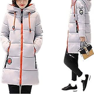 Leomodo 2019 New Women Winter Down Long Coat Hoodie Thicken Coat Long Sleeve Cotton Outerwear