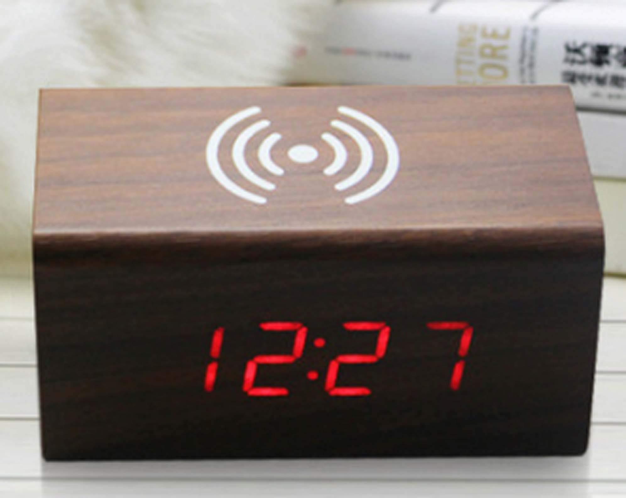 Travelwey Despertador Digital LED - Simple, con Cable, luz ...