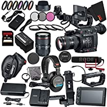 Canon EOS C200 EF Cinema Camera and 24-105mm Lens Bundle (EF-Mount)