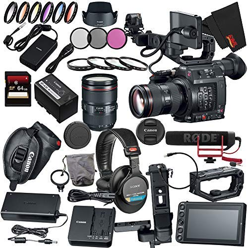 Canon EOS C200 EF Cinema Camera and...