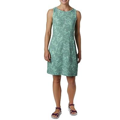 Columbia Chill Rivertm Printed Dress (Light Lichen/Light Lichen Rubbed Texture) Women