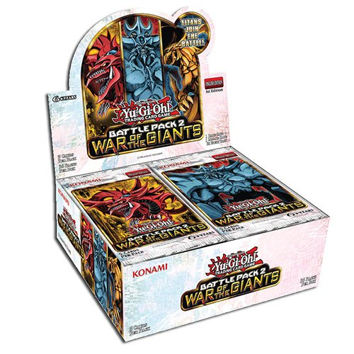 Yu Gi Oh [UK-Import] Battle Pack 2 War of The Giants Booster Box Case of 36